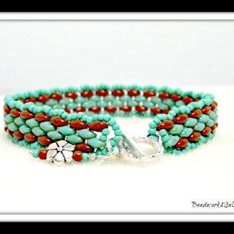 A Touch of the Southwest Handmade Beaded Bracelet